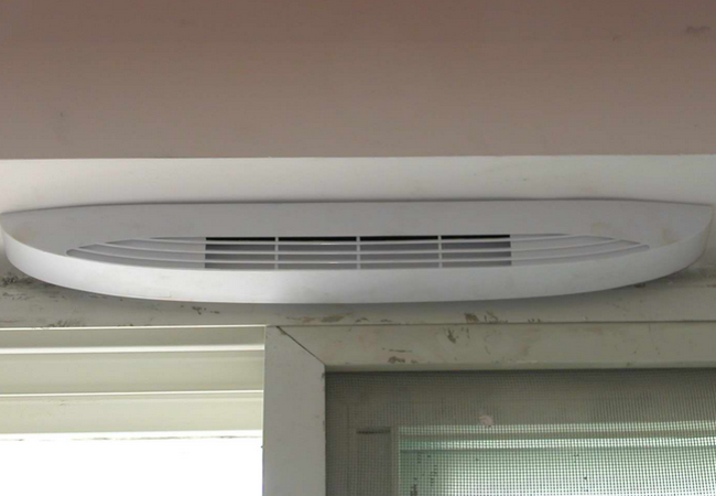 Installation of fresh air system is the development trend of residential